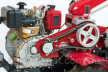 Дизельный мотоблок Deluxe Weima Wm 610 Е (6 л.с., электростартер, колеса 4.00-8), фото 2