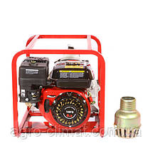 Мотопомпа бензиновая WEIMA WMPW80-26 (78 м.куб/час, для грязной воды), фото 2