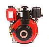 Двигатель, дизель, 6 л.с, электростартер Weima WM178FЕ (для мотоблока WM1100, вал под шлицы)
