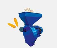 Зернодробилка ДТЗ КР-02 (200 кг/час,зерно+початки кукурузы)