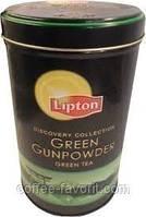 Чай зеленый Lipton Green Gunpowder листовой 100г ж/б
