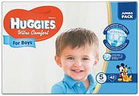 Huggies Ultra Comfort for Boys 5 (12-22кг) 42 шт