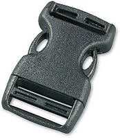 Застёжка-фастекс для ремней (2 шт.) Tatonka SR-Buckle 25мм чёрная 3370.040