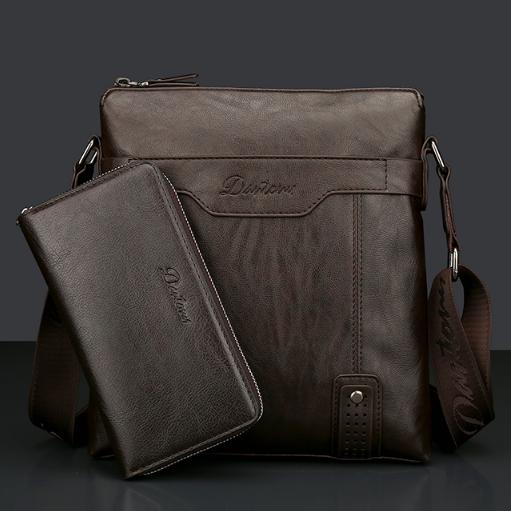 Мужская кожаная сумка. Модель 2237