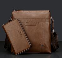 Мужская кожаная сумка. Модель 2237, фото 3