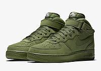 Кроссовки мужские  Nike Air Force 1 Legion Green (найк форс) зеленые
