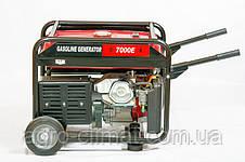 Генератор однофазный бензиновый Weima WM7000E ATS (7 кВт, 1 фаза, электрогенератор), фото 2