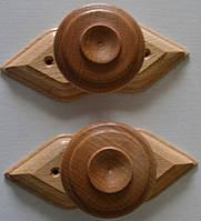 Ручки дерев'яні для дверей .