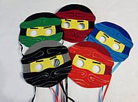 Набор масок Лего Нинзяго. Сюжетно-ролевые игры. Игры с детьми.