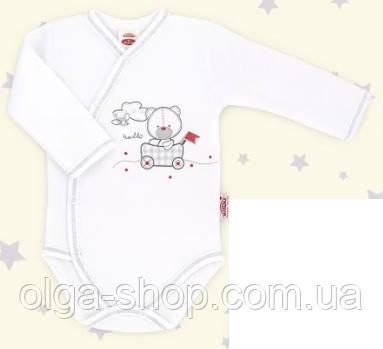 Боди детское польское для девочки мальчика новорожденных младенцев детей пижама человечек Makoma 0303DR