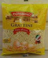 Макароны камeшки, Combino Grattini 250г