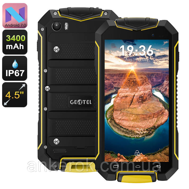 Geotel A1 (Yellow) IP67