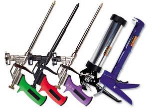 Пистолеты для герметика, клея и пены