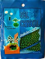 Шарики растущие в воде. Шарики орбиз в пакетике 10 грамм зелёные.