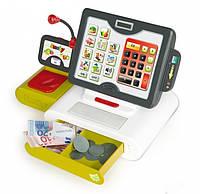 Детская электронная касса Smoby - Франция - с сенсорным экраном