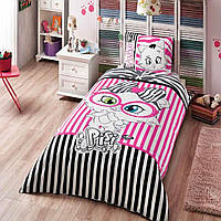 Детское подростковое постельное белье TAC Disney Pisi Fashion Ранфорс