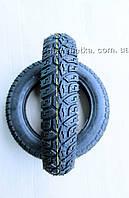 Шины на скутер 3.50-10 десятислойная бескамерная шипованная