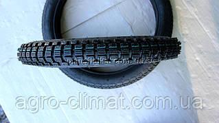 Шины на скутер 2.50-16 шестислойная с камерой, шипованная