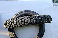 Резина на мотоцикл 3.00-18 шипованная + камера восьмислойная