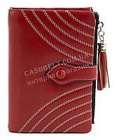 Женский небольшой качественный кошелек с эко кожи FUERDANNI art. K75 4141 красный
