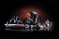Двигатель на велосипед в сборе без стартера 80 сс черный