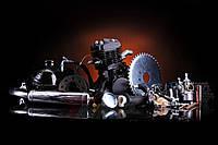 Двигатель на велосипед в сборе со стартером 80 сс черный