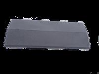 Парапет на забор LAND BRICK серый 285х680 мм