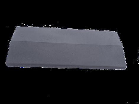 Парапет на забор LAND BRICK серый 250х1000 мм