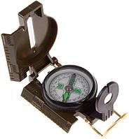 Компас в пластиковом корпусе армейского типа Lensatic Compass