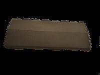 Парапет на забор LAND BRICK коричневый 285х680 мм
