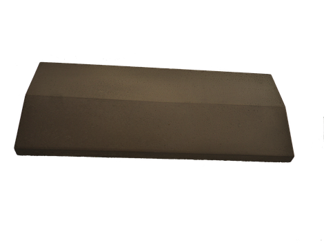 Парапет на забор LAND BRICK коричневый 250х1000 мм