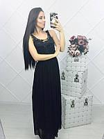 Шифоновые платья в пол 13633