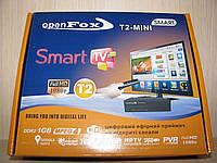 Цифровой эфирный Open Fox T2-mini Smart, тюнер DVB-T2,Т2 приставка, эфирный цифровой приемник