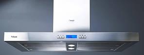 Вытяжка кухонная декоративная Fabiano Gloria Isola Inox (LCD) Silence +
