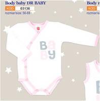Боди детское польское для девочки мальчика новорожденных младенцев детей пижама человечек Makoma 03136