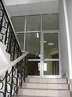 Двери и перегородки алюминиевые противопожарная EI 30