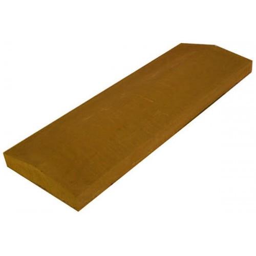 Бетонная парапетная плита LAND BRICK желтая 170х1000 мм