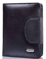 Женский кошелек из натуральной кожи CANPELLINI SHI967-7 черный