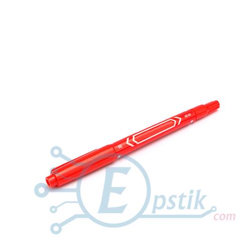 Маркер перманентний Zebifa для малювання друкованих плат (Червоний)