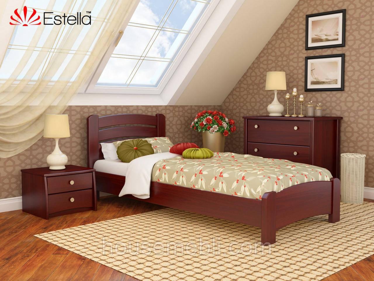 Кровать Венеция Люкс 80*190(массив)