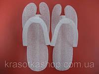 Тапочки-вьетнамки одноразовые складные, воздушно-пенные, 3-4 мм