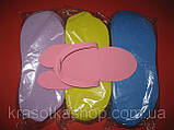 Капці-в'єтнамки одноразові, щільні 2,5 мм, фото 2