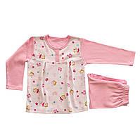 Пижама для новорожденных розовая