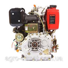 Двигатель Weima дизельный WM186FВЕ 9.5л.с., эл.старт. (вал под шлицы/шпонку, для мотоблока WM1100ВЕ), фото 3
