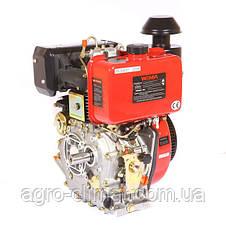 Двигатель дизельный Weima WM188FВЕS (1800 об/мин, шпонка, дизель 12 л.с. эл.старт, редуктор), фото 2
