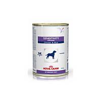 Консервы 420 г при аллергических заболеваниях и пищевой непереносимости Роял Канин / SENSITIVITY CANINE CHICKE
