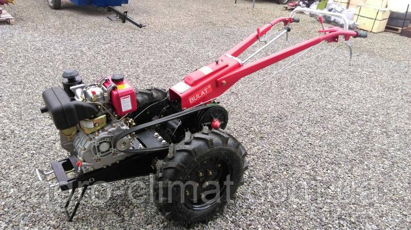 Мотоблок гибрид Булат WM 6 (дизель воздушного охлаждения 6 л.с., ручной стартер)