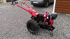 Мотоблок гибрид Булат Wm 12 Е (дизель воздушного охлаждения 12 л.с., электростартер) , фото 2