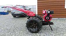 Мотоблок гибрид Булат Wm 12 ЕR (дизель воздушн. охлаждения, с понижающим редуктором 12 л.с., электростартер), фото 3
