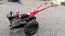 Мотоблок гибрид Булат Wm 12 ЕR (дизель воздушн. охлаждения, с понижающим редуктором 12 л.с., электростартер), фото 2